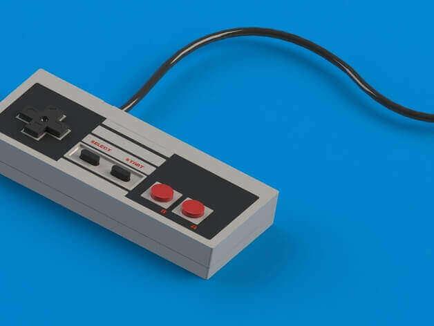 Image of Raspberry Pi NES Case: Classic NES Controller Replica (Bonus)