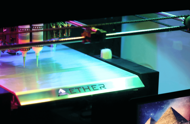 Image of Best All-In-One 3D Printer/Scanner/Laser Engraver/CNC Machines: Aether 1