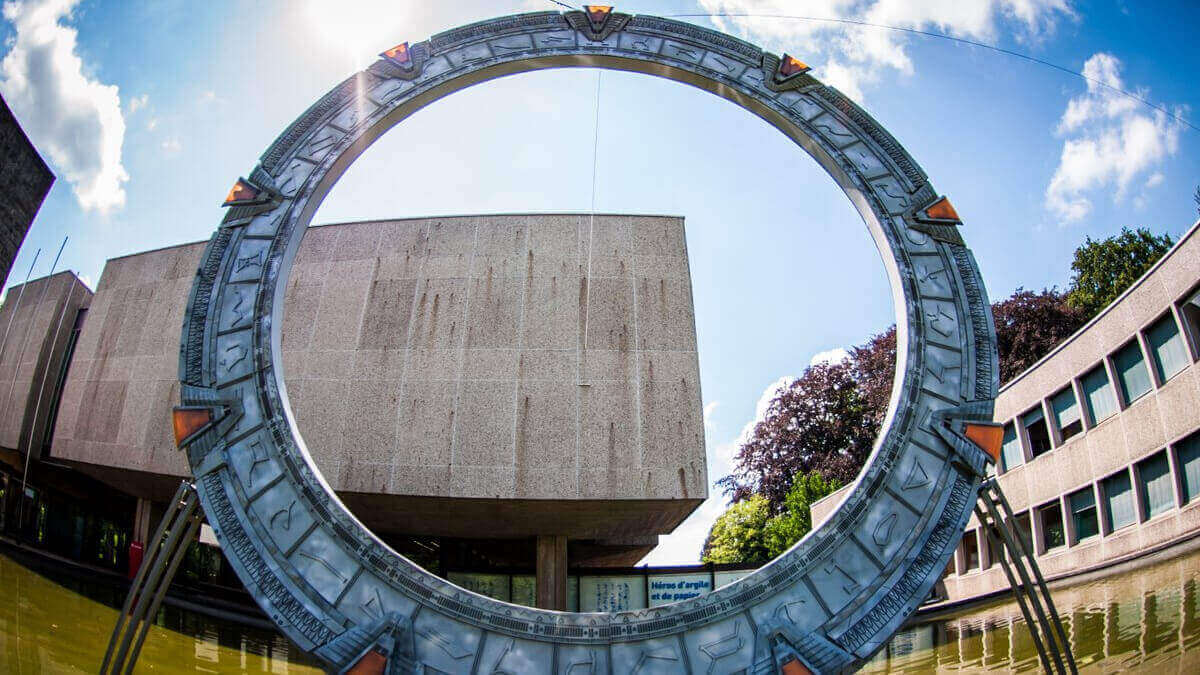 Lifesize Stargate 3D Printed in 1,000 Hours   All3DP