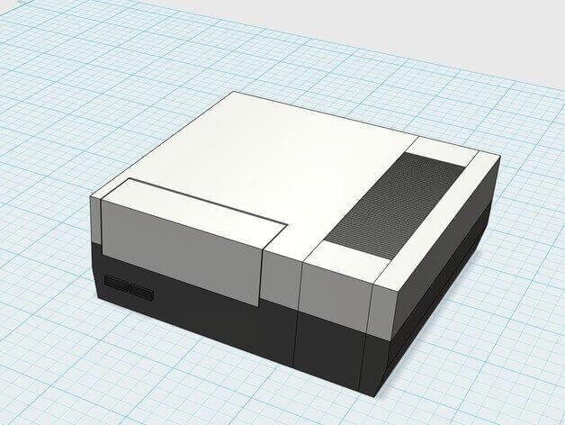 Image of Raspberry Pi NES Case: pi3_NES
