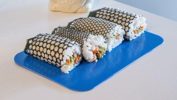 Make Your Own Laser-Cut Patterns in Nori for Stylish Sushi | All3DP