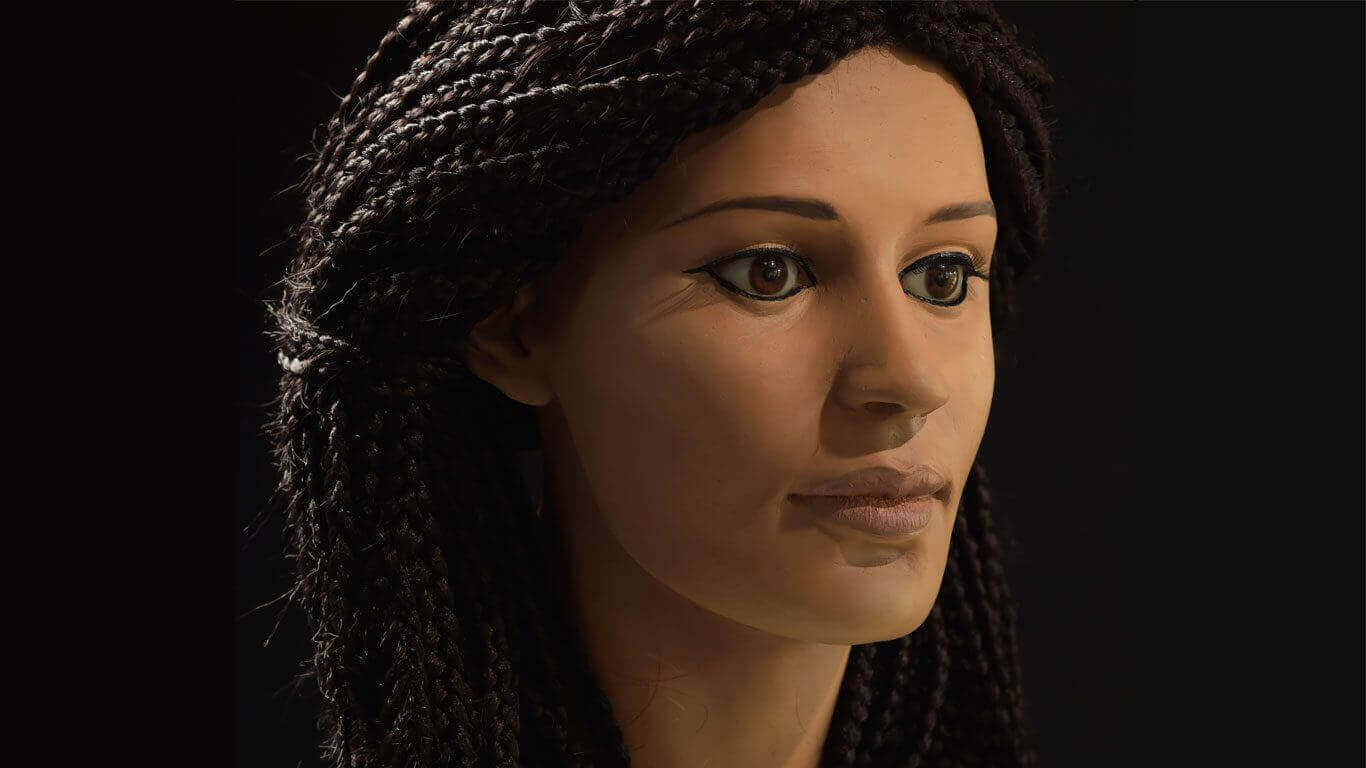 Meritamun: Ancient Egyptian Reborn with 3D Printing | All3DP