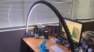 Featured image of 3D Print an LED Bridge Lamp in Art Deco Style