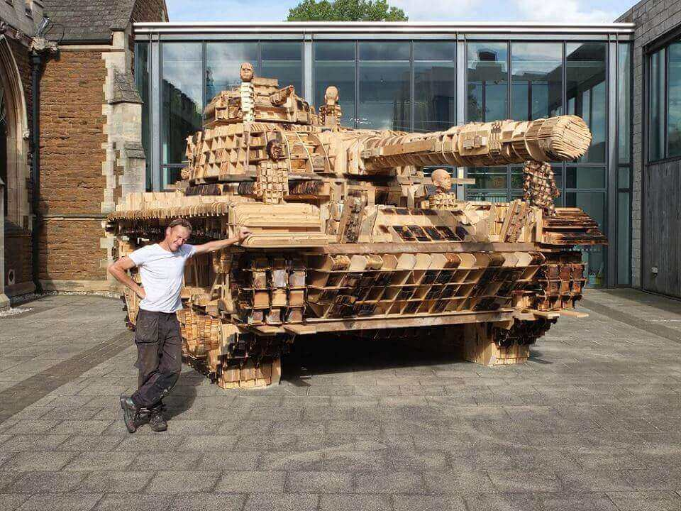 Deconstruction and Reconstruction of an Army Tank