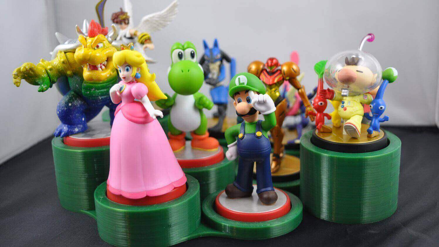 10 Awesome Amiibo Stands & Display Cases to 3D Print | All3DP