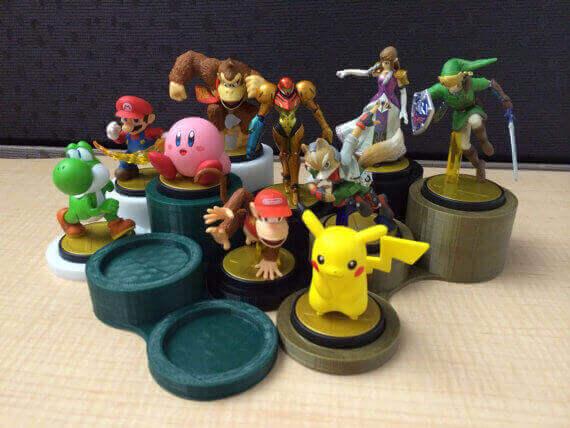 3D Printed Amiibo Stand