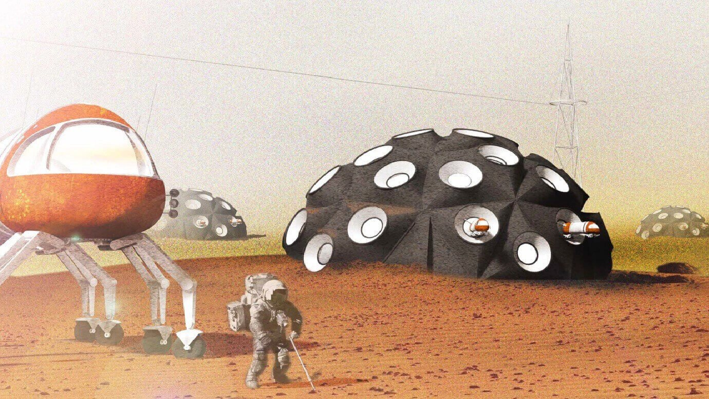 Mars City Design Project will 3D Print in the Mojave Desert | All3DP