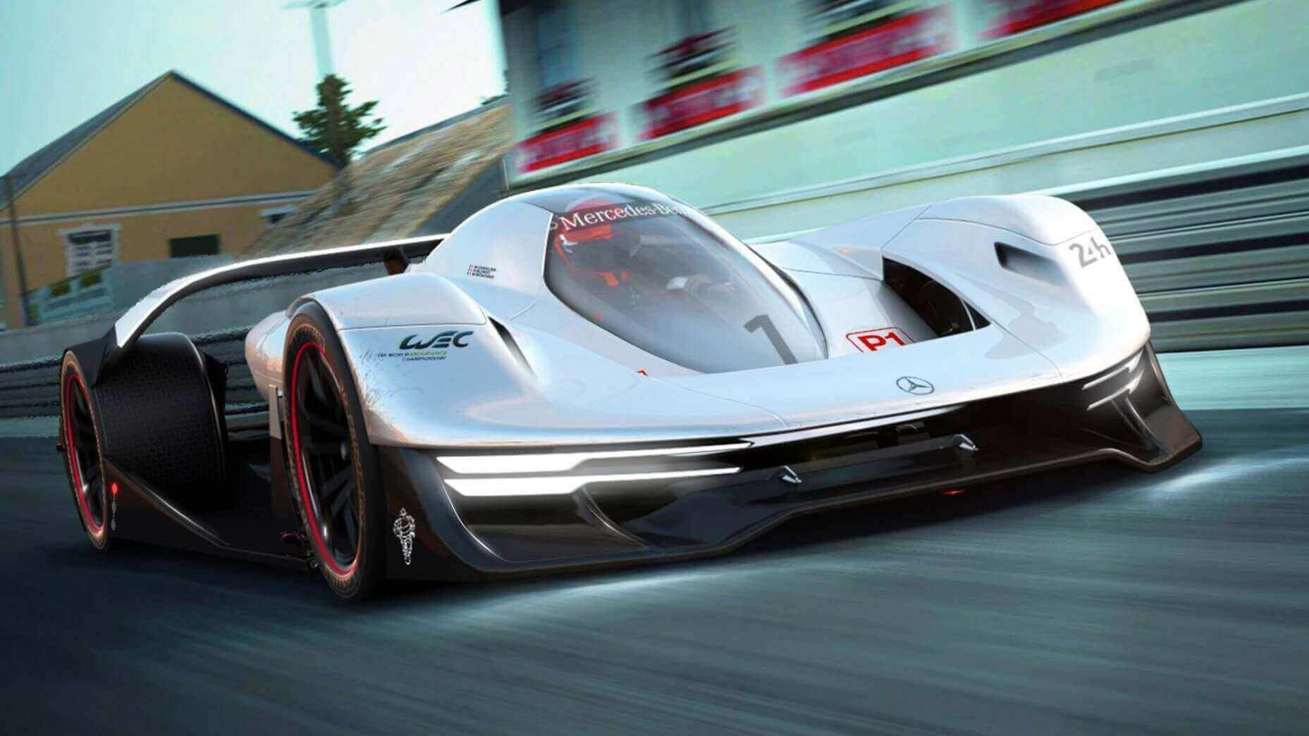 Mercedes-Benz DTW Concept Car has 3D Printed Tires | All3DP