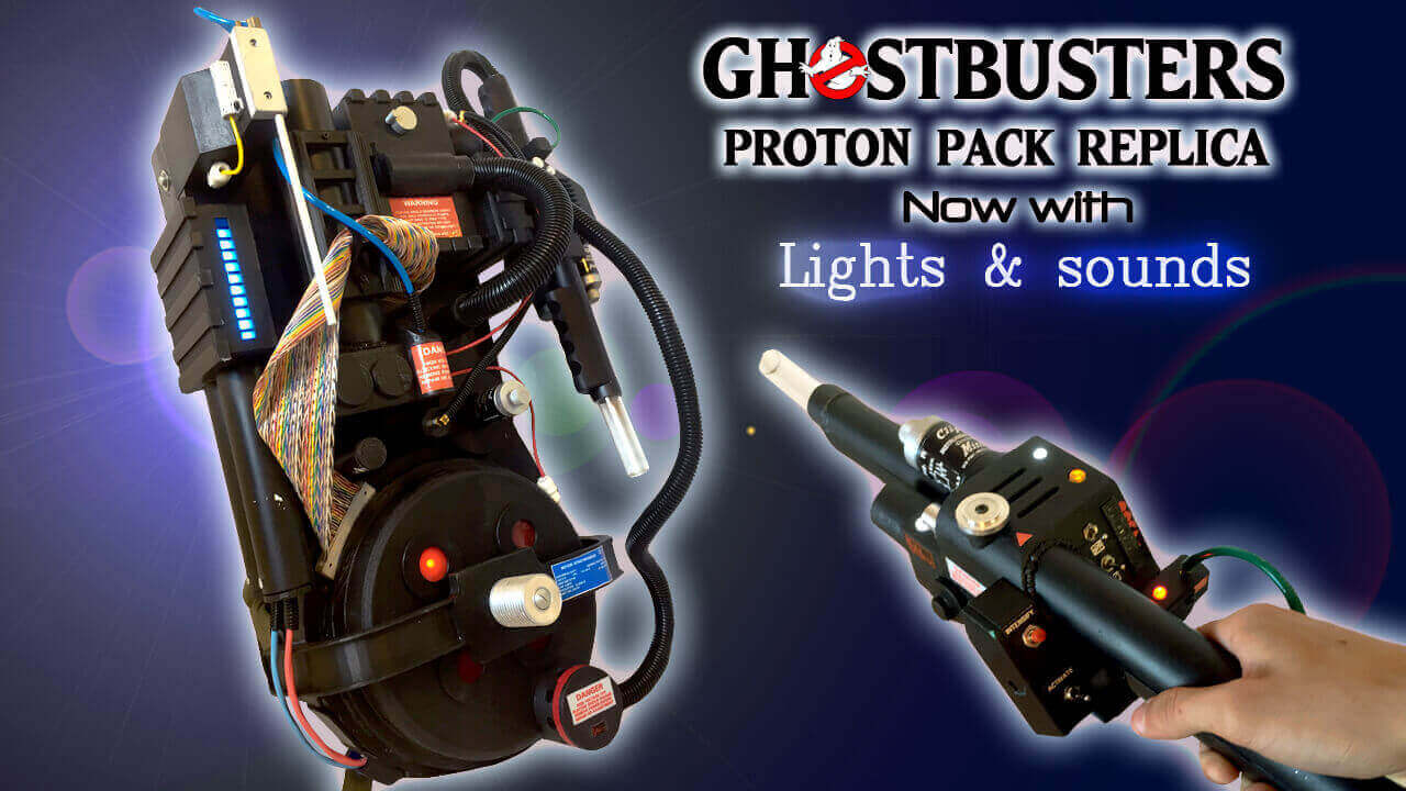 Crossing Streams with a Ghostbusters Proton Pack Replica | All3DP