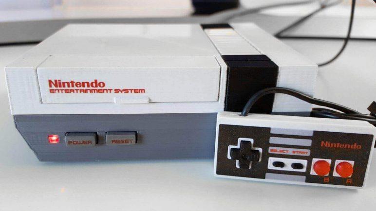 Image of Proyectos Raspberry Pi que puedes imprimir en 3D: Mini NES clásica