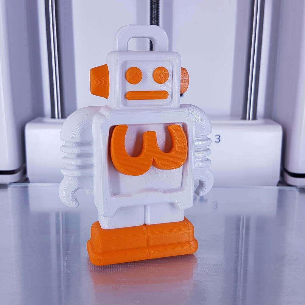 dual extrusion 3d printer model