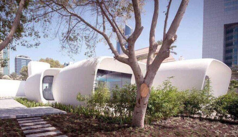 Image of 3D Printed House/Structure: Office Building