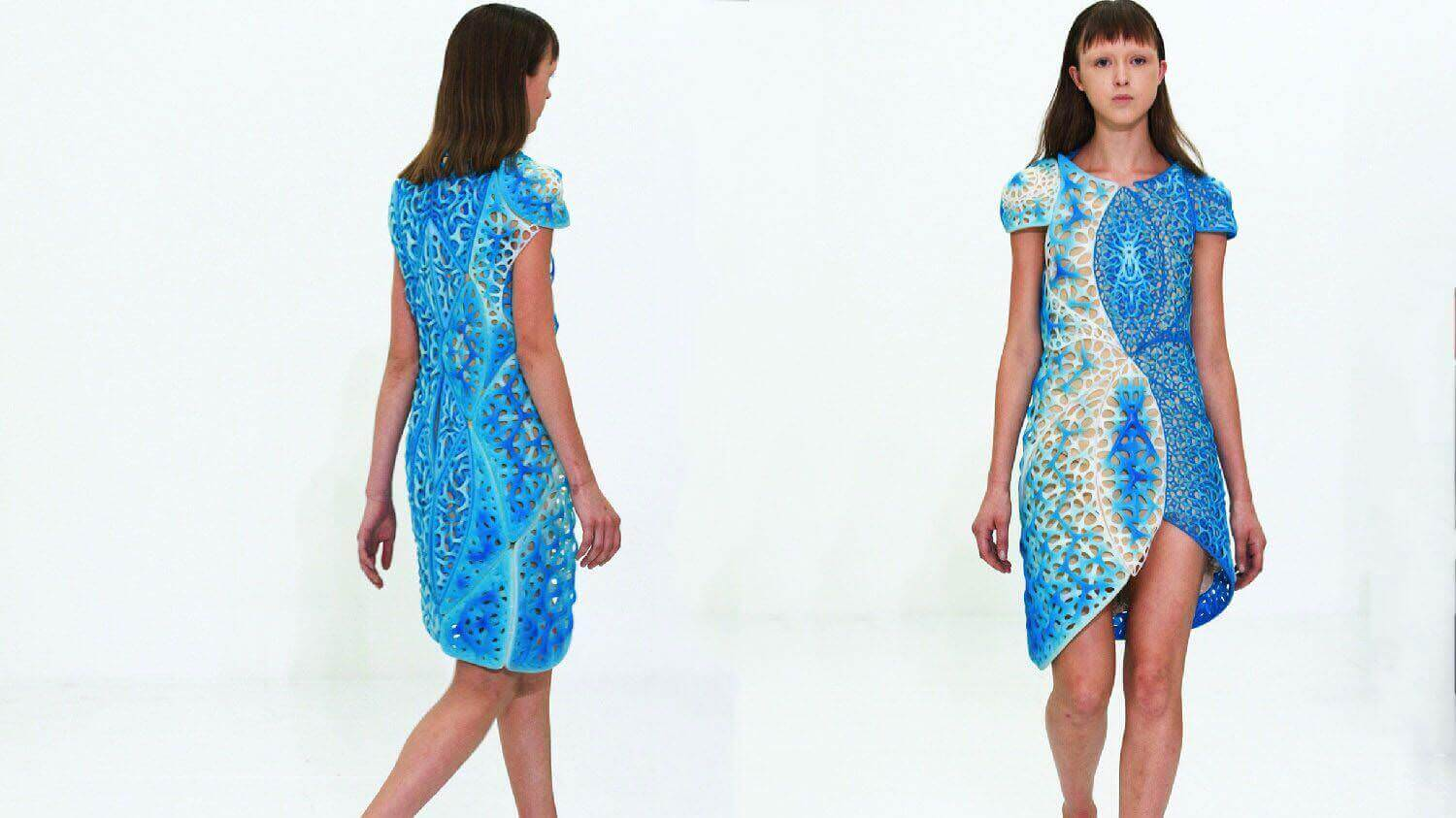 Oscillation is a 3D Printed Dress Inspired by Quantum Physics | All3DP