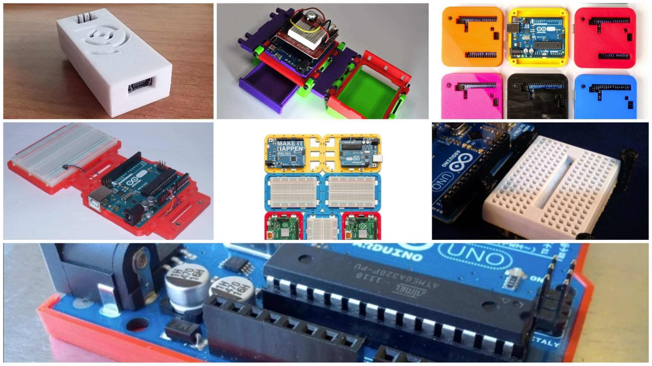 12 Awesome Arduino Cases To 3d Print All3dp Top View Of The Completed Circuit Board Waiting Be Mounted On Featured Image