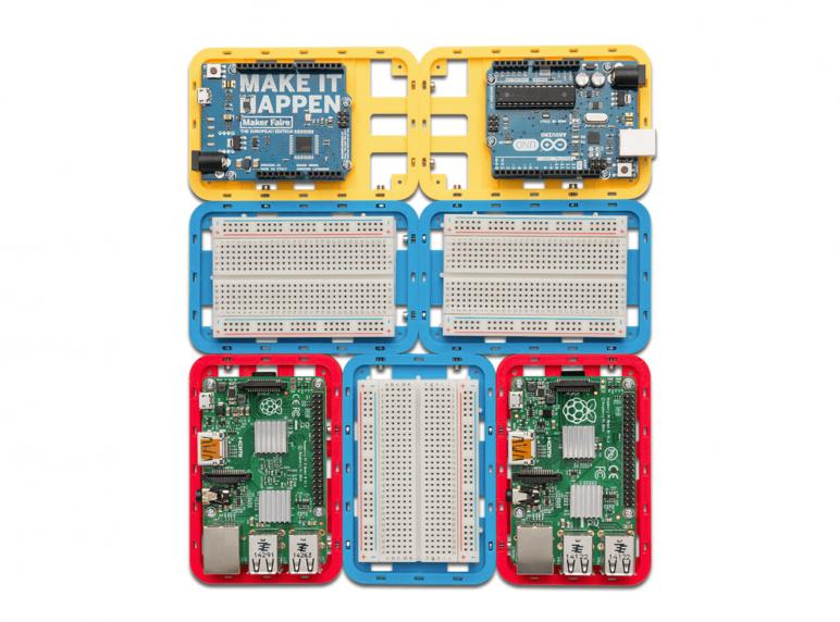 Image of Arduino Cases to 3D Print: Modular Support Case CustoBlocks