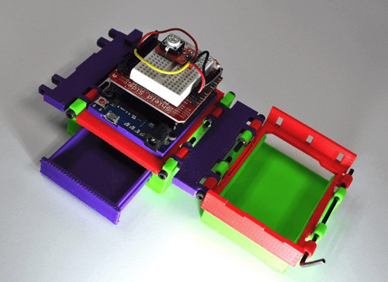 Image of Arduino Cases to 3D Print: The Folding Lab