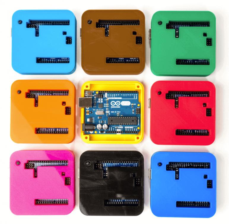 Image of Arduino Cases to 3D Print: Case for Uno, Leonardo