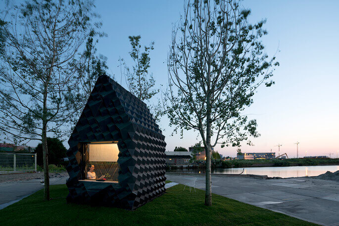 Image of 3D Printed House/Structure: Urban Cabin