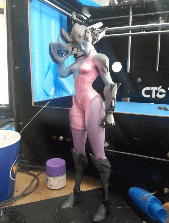 Image of Overwatch 3D Models: Smoothed Widowmaker
