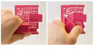 Featured image of Metamaterial Mechanisms: 3D Printed Door Handle & No Moving Parts