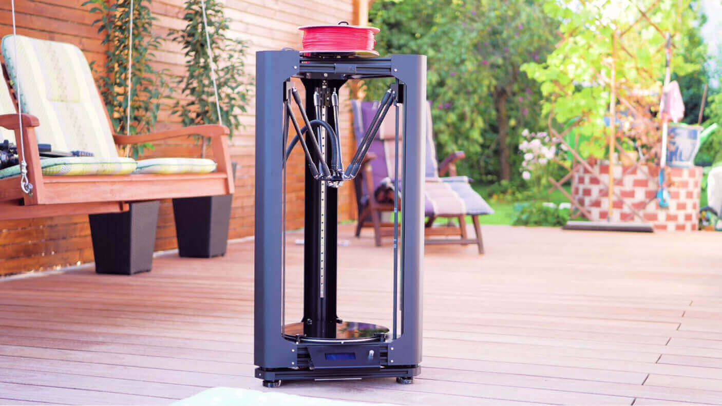 Stealth Black: Layer One Atom 2.0 Delta 3D Printer Review | All3DP