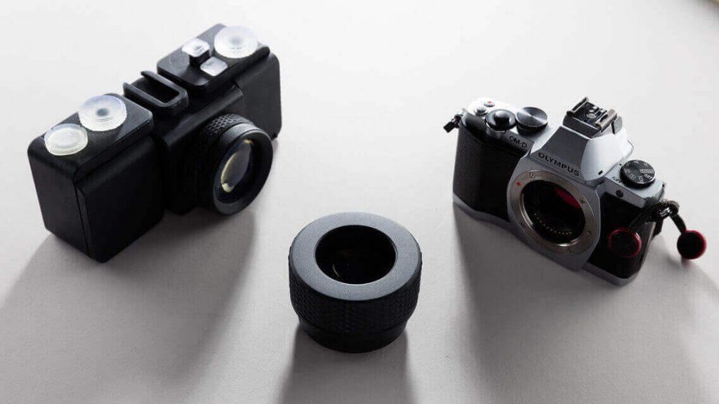 3d printed camera lenses