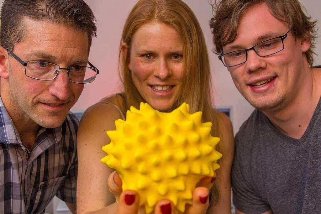 3d printed pollen