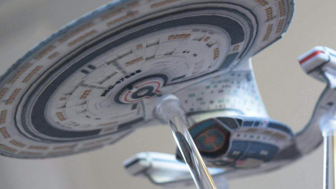 Buy a 3D Printed Model of your Favorite Star Trek Spacecraft | All3DP