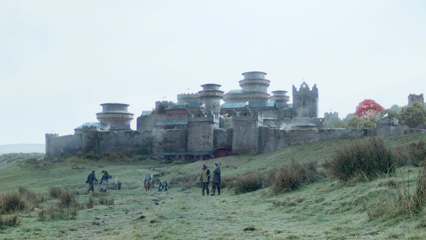 Winterfell from Game of Thrones is 3D Printed in Cement | All3DP