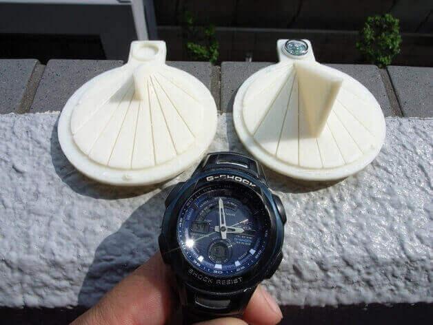 3D printed sundials sundial #1