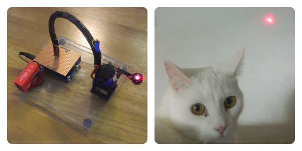 30 3D Printed Objects For Your Pet Cat Laser Entertainer Robot