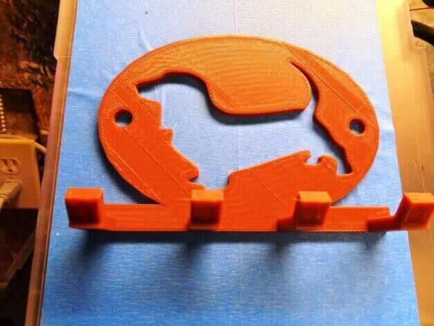30 3D Printed Objects For Your Pet Basset Hound Leash Holder