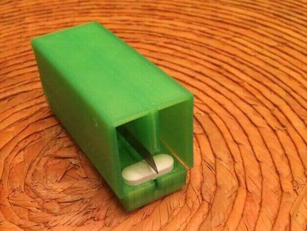 30 3D Printed Objects For Your Pet Pill Cutter