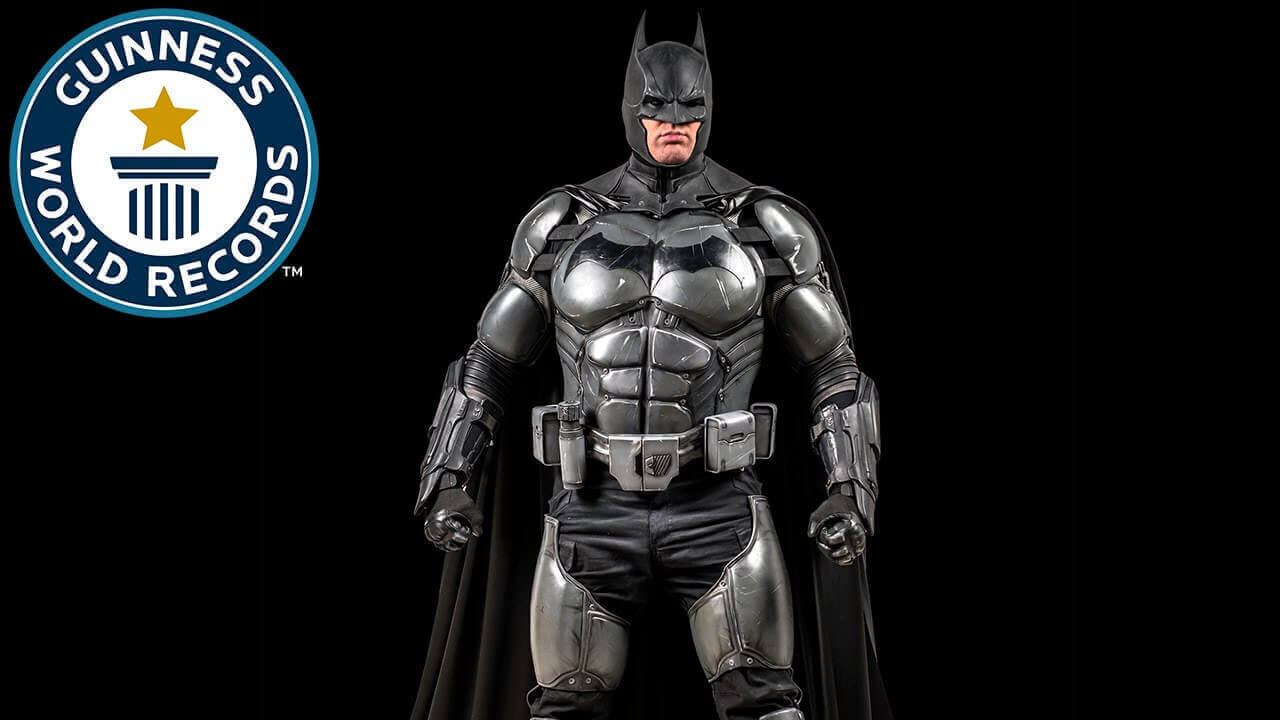 Batman Cosplay with 23 Gadgets Wins Guinness World Record | All3DP