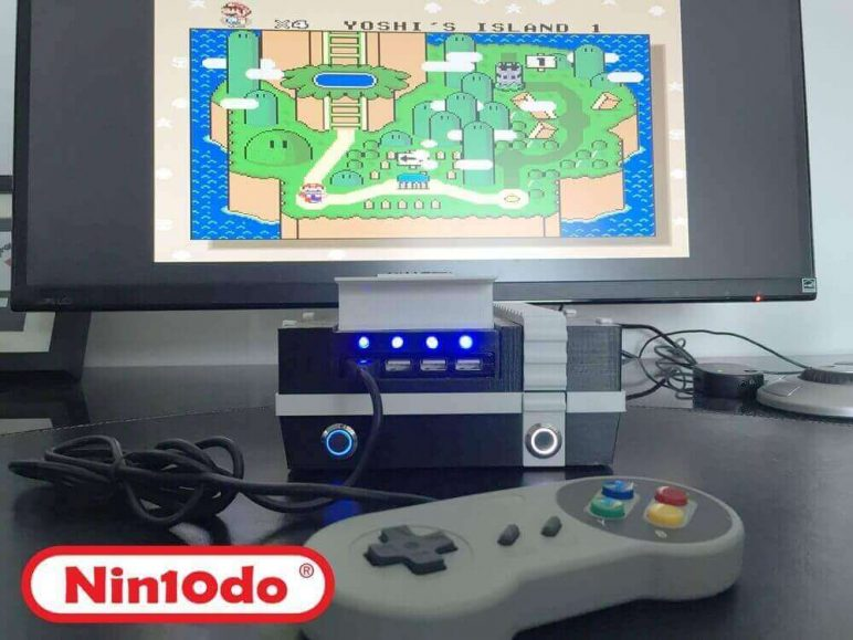 Image of Raspberry Pi NES Case: The nin10do
