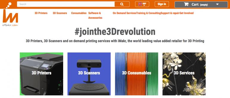 Image of Online 3D Printing Service: iMakr