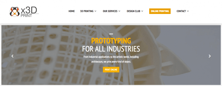 Image of Online 3D Printing Service: X3D Print