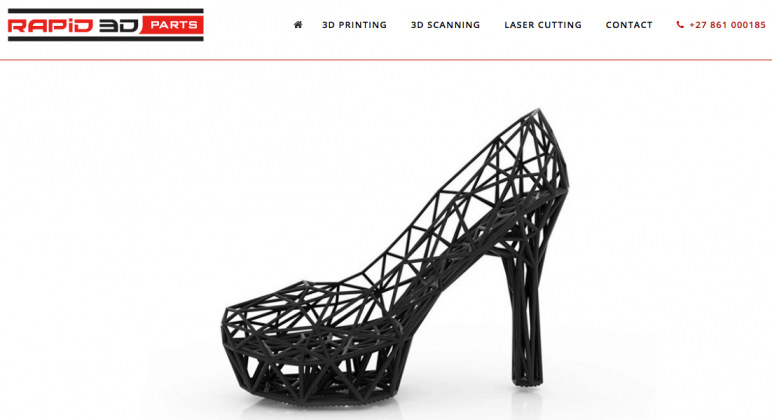 Image of Online 3D Printing Service: Rapid3DParts
