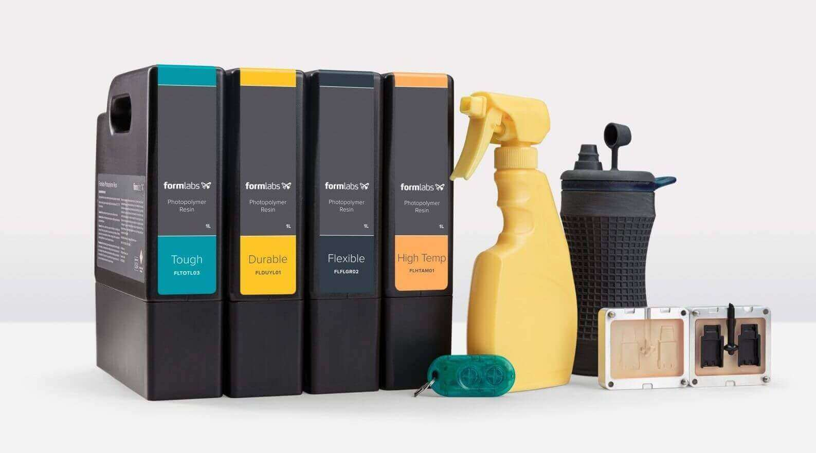 Formlabs Announces three New Engineering Resins | All3DP
