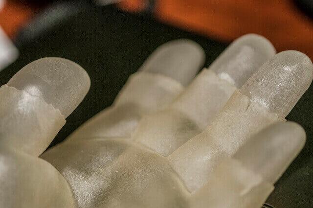 3D printed hands