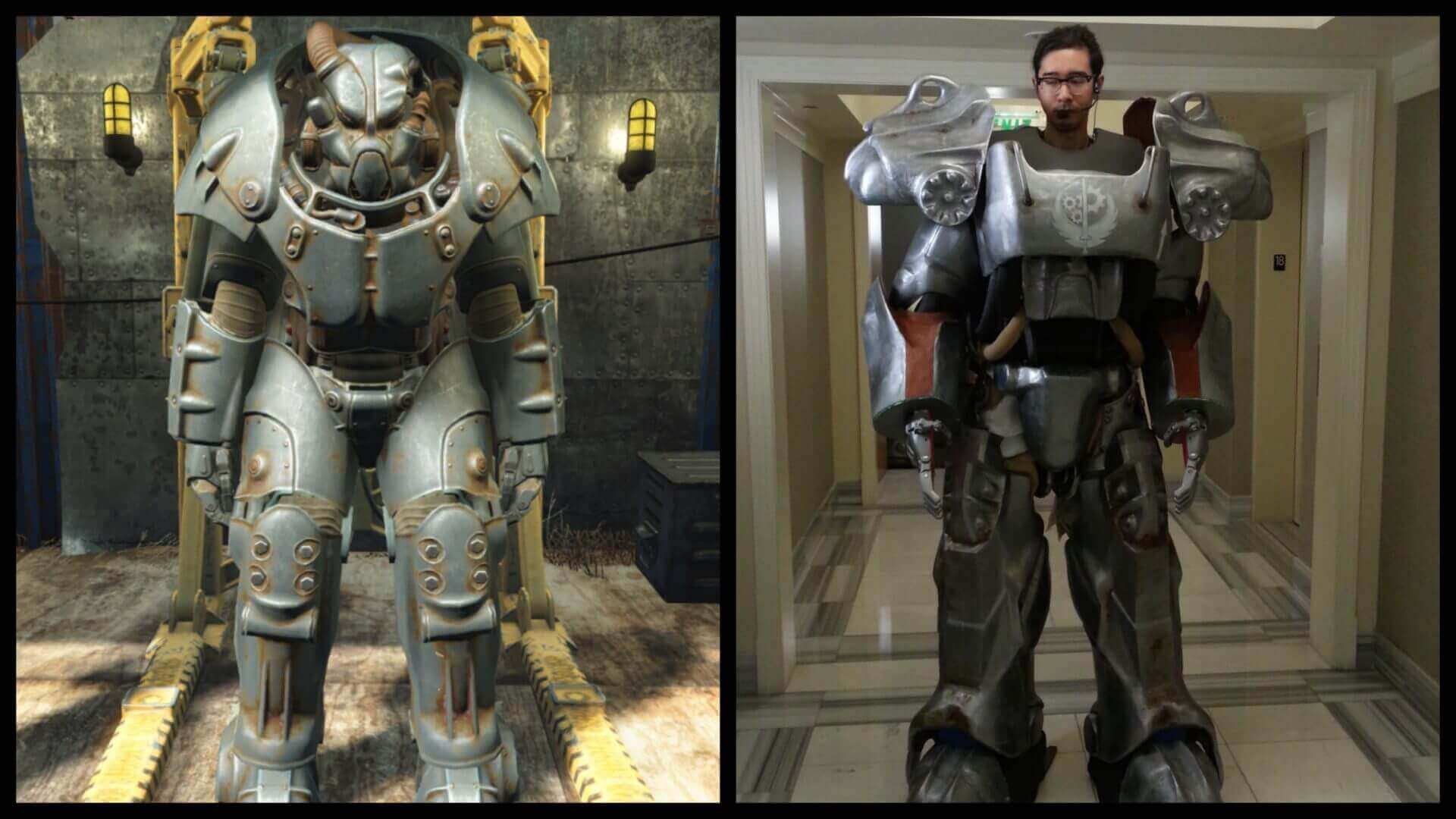Fallout Fan 3D Prints Life-Sized Power Armor | All3DP