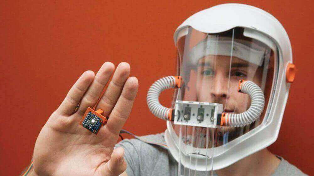 Amazing Synesthesia Mask Lets You Smell Colors   All3DP