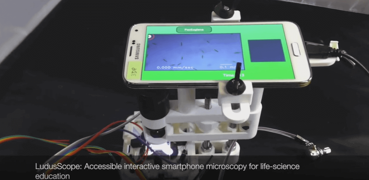 3D Printed Microscope Turns Your Smartphone into 'Amoeba PacMan' | All3DP