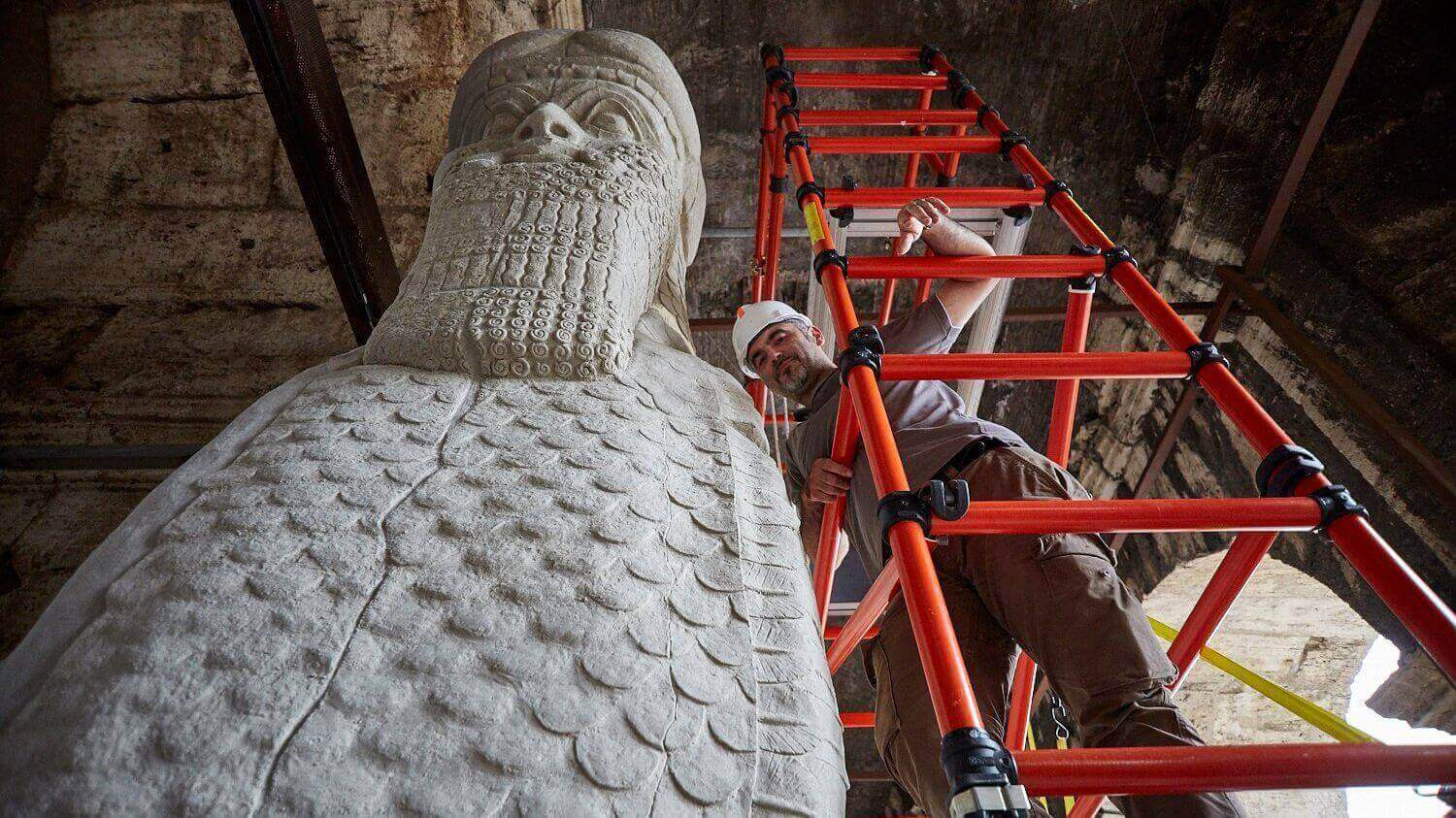 Bull of Nimrud Destroyed by Isis recreated with 3D Printing | All3DP
