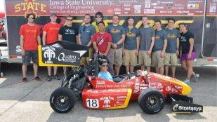Featured image of Cyclone Racing uses 3D Printing for Formula SAE Competition