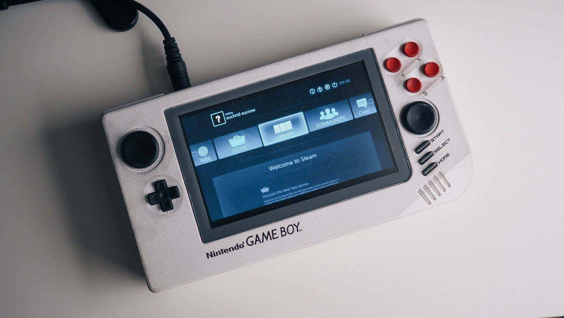 It's Steam-Ready: Meet the 3D Printed Arduino Game Boy | All3DP