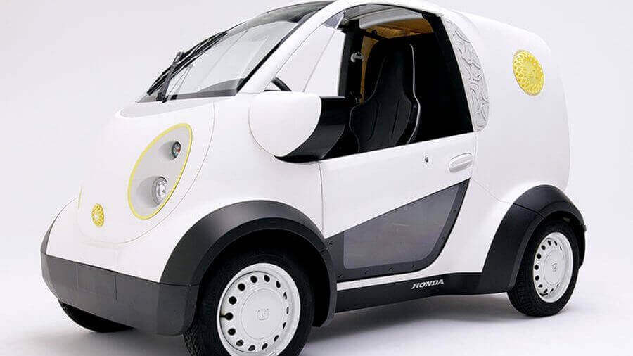 Honda's Custom Cookie Car has a 3D Printed Body | All3DP