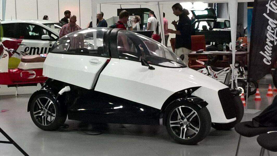 Prague Startup 4ekolka Creates 3D Printed Electric City Car | All3DP