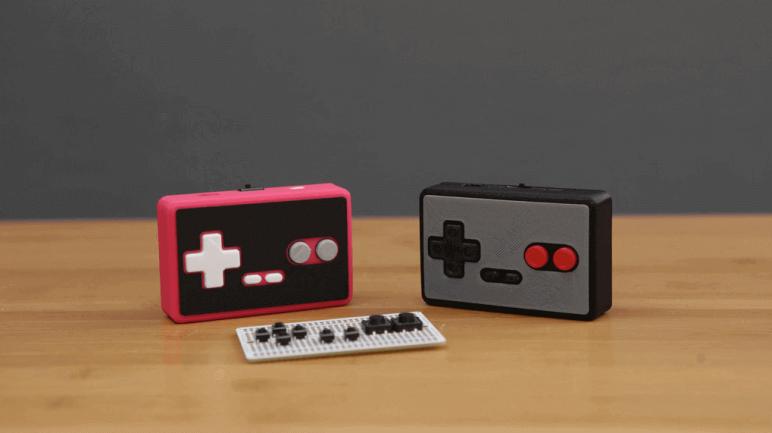 Image of Raspberry Pi NES Case: DIY Bluetooth Gamepad (Bonus)