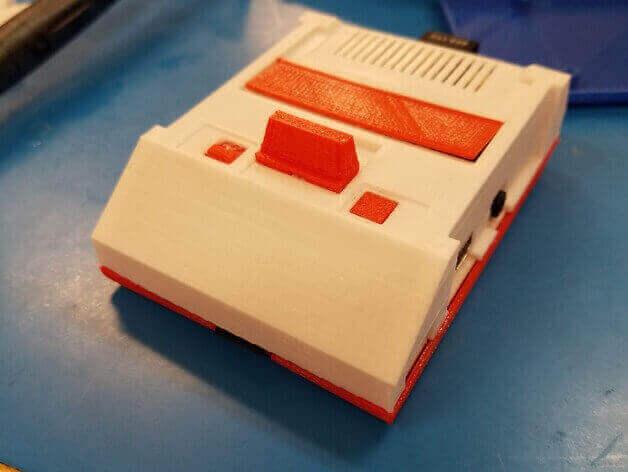 Image of Raspberry Pi NES Case: Famicom